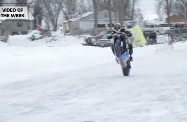 """קוקוריקו: 150 קמ""""ש בווילי, על הקרח!"""
