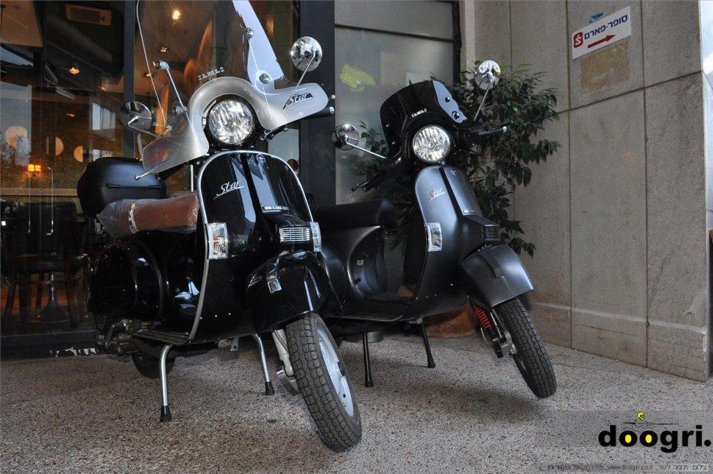חדש בישראל: קטנועי LML