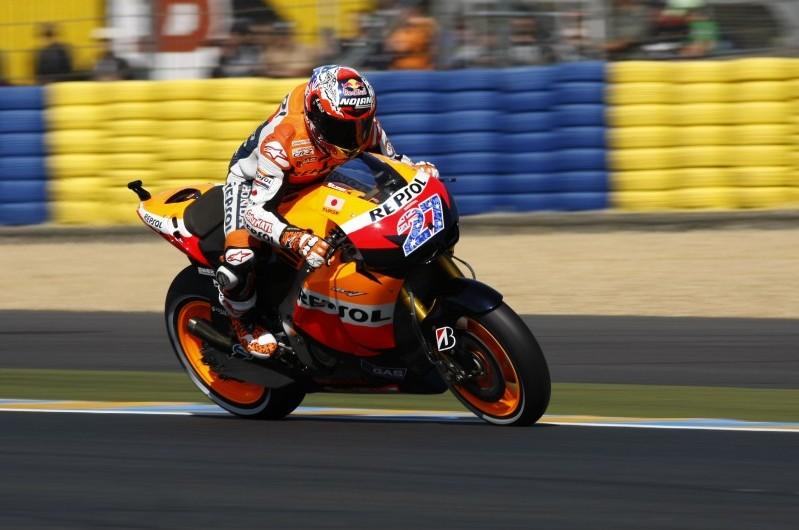 MotoGP: תוצאות מירוץ לה-מאן, צרפת