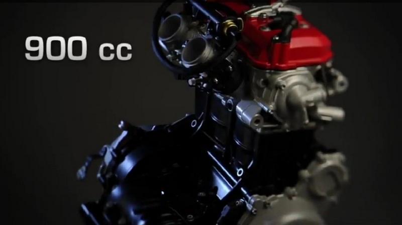 וידאו: הצצה למנוע הטווין החדש של הוסקוורנה
