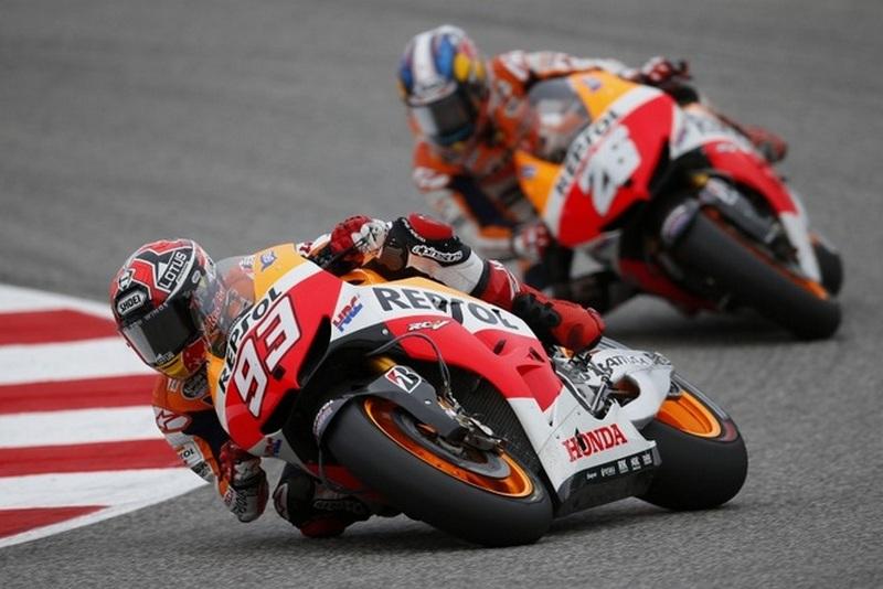 MotoGP אראגון: מארקז בפול השביעי שלו