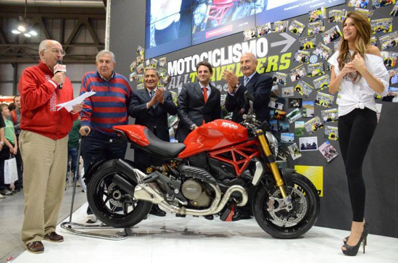 דוקאטי מונסטר 1200S החדש – האופנוע היפה במילאנו 2013