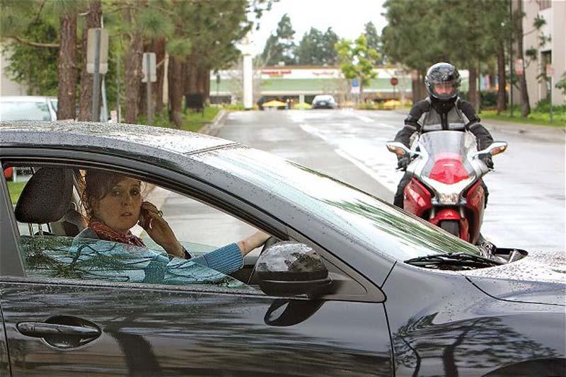 בטיחות: הרוכב הוא רואה ואינו ניראה