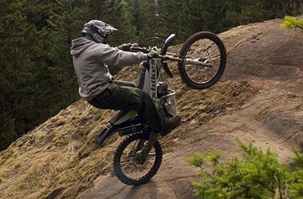 אופנוע או אופני הרים? משהו ידידותי מניו זילנד