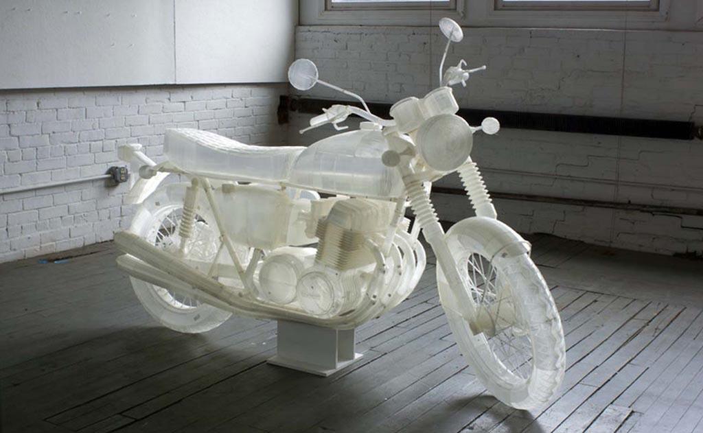 הדפסת אופנוע?! ראו את ה-CB500  הזה