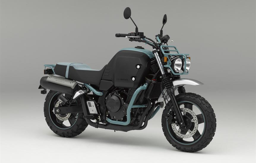 הונדה בולדוג 400 – עוד אופנוע יפה מתערוכת אוסקה