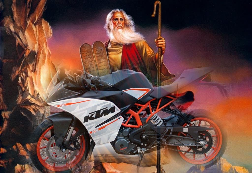 טור חגיגי: משה רבנו היה אופנוען, בטוח!