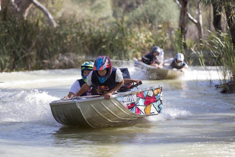 נותן ברייס: טירוף על המים