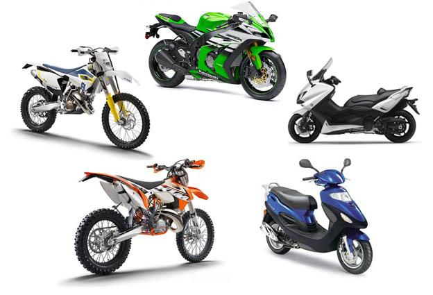 מי הקטנועים והאופנועים החדשים הנמכרים בישראל ב-2015?