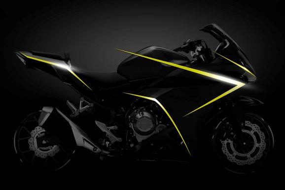 הונדה CBR500R מעודכן ל-2016