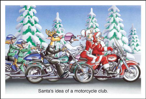 וידאו: מתנת הכריסטמס של סנטה לילדים הרעים – הרלי-דייוידסון!