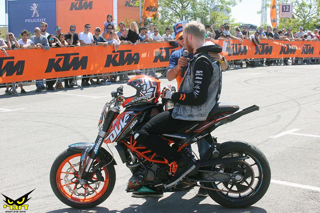 מדור פרסומי: KTM הוא מותג האופנועים המוביל בישראל