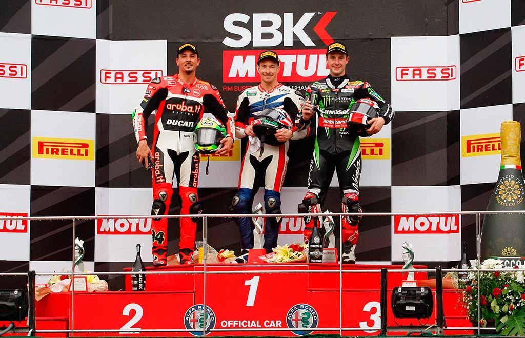 WSBK מאלזיה מירוץ 2: ניצחון בכורה להיידן בסופרבייק
