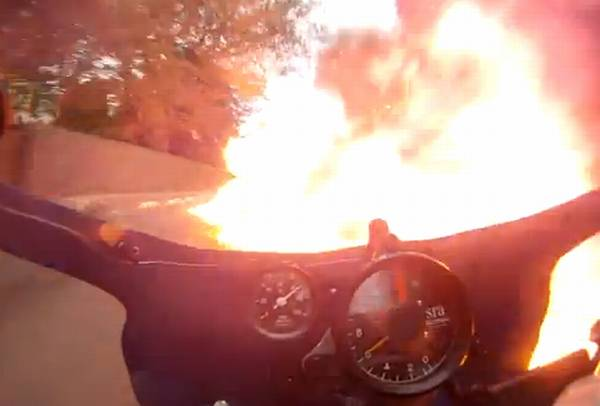 לרכב אל תוך האש
