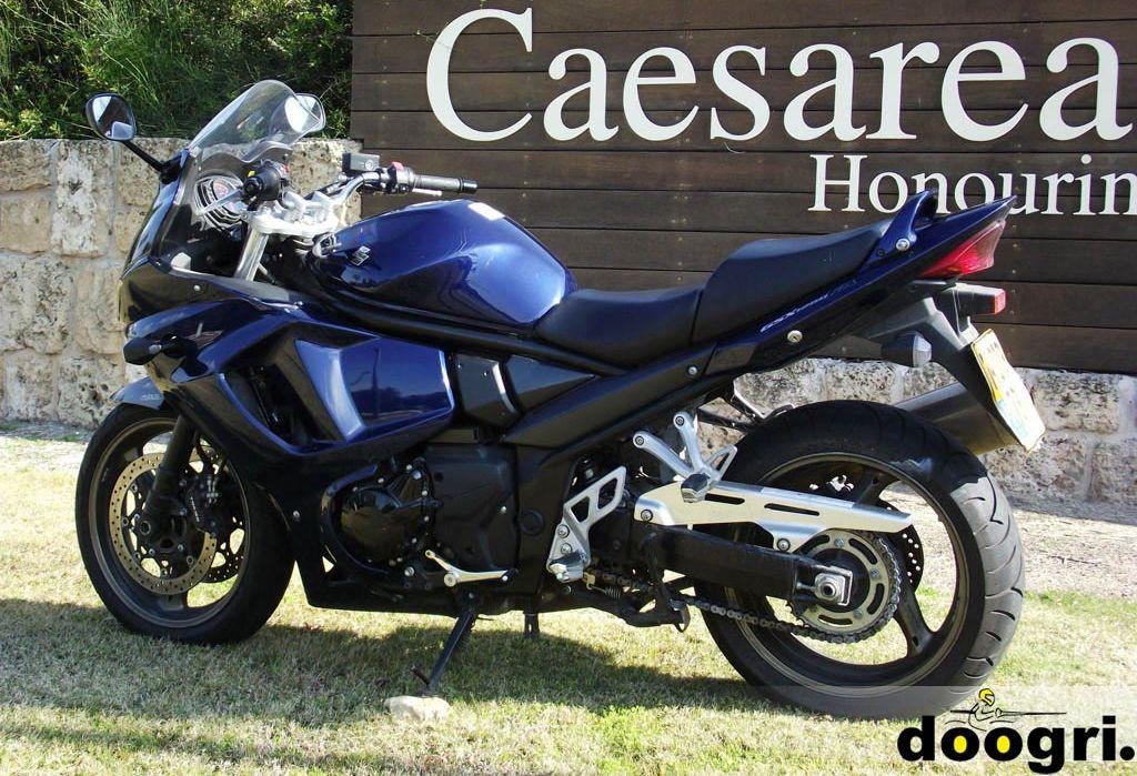 מקטנוע לאופנוע – סוזוקי בנדיט  GSX 1250FA