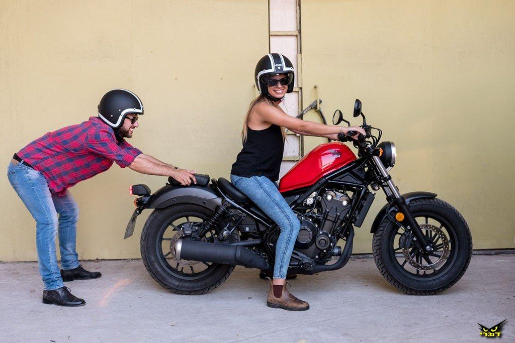 בובה של בובר – הונדה Rebel 500 במבחן בכורה בישראל