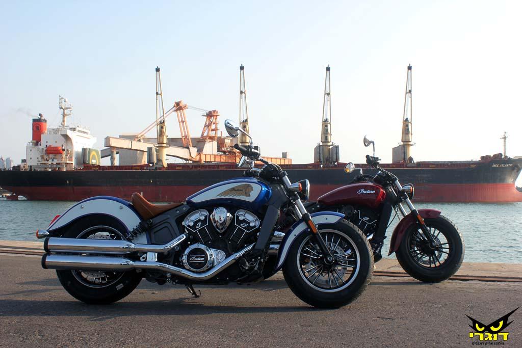 אופנועי אינדיאן מושקים רשמית בישראל
