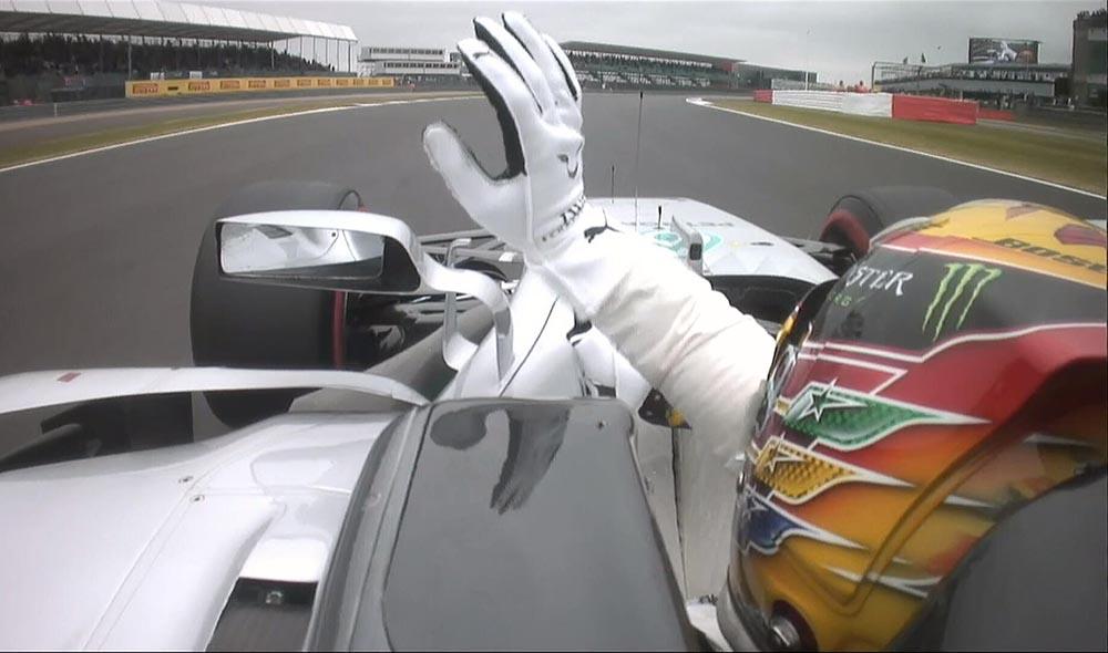 F1 אנגליה גריד: המילטון #1