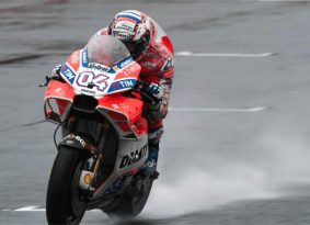 מוטו GP יפן – דוביציאוזו מוביל את היום הראשון, מארקז נופל