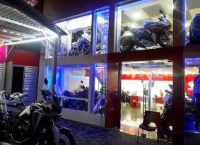 הונדה פותחת סוכנות ענקית באופנועי השרון