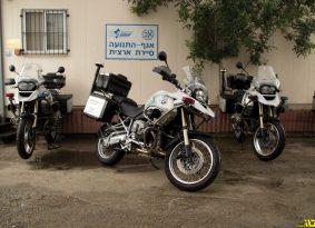 המשטרה התקינה מלכודות מהירות – על אופנועים