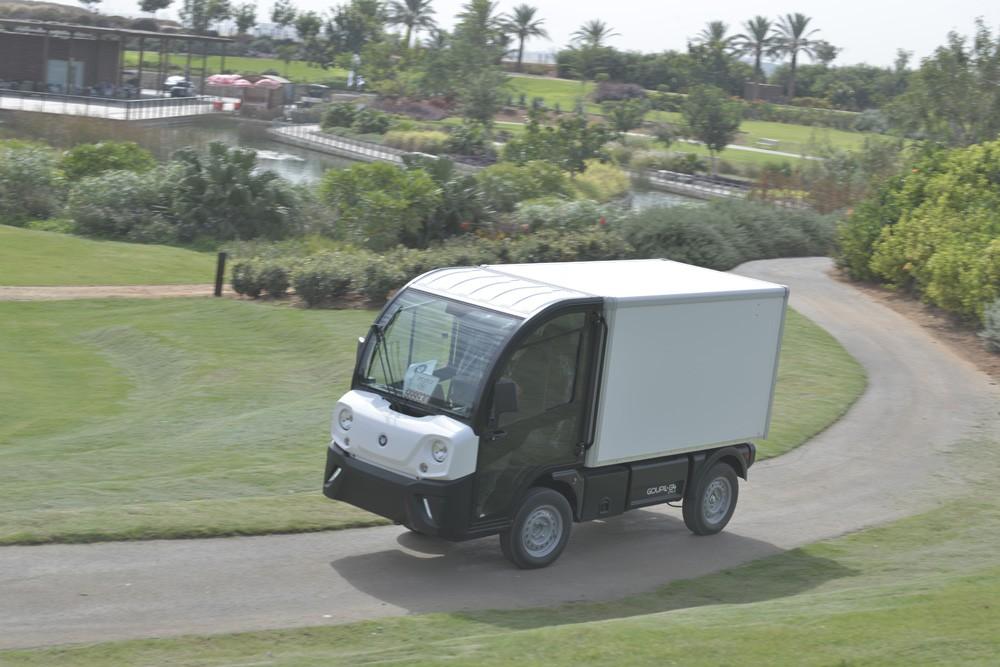 חדש בארץ: GOUPIL, משאית חשמלית זעירה