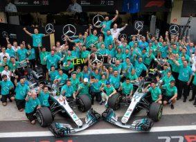 F1 ברזיל: מרצדס אלופה בפעם החמישית ברציפות