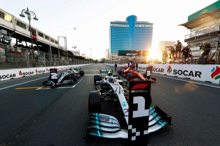 F1 אזרבייג'ן: מרצדס שולטים הפעם עם בוטס