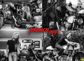 רוכבות ובונות: תחרות ה-Wrench Off של PETROLETTES ו-Royal Enfield