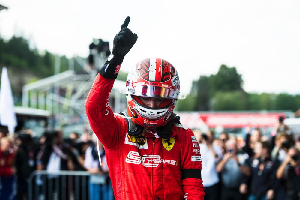 בלגיה F1 מרוץ: שמחה ועצב