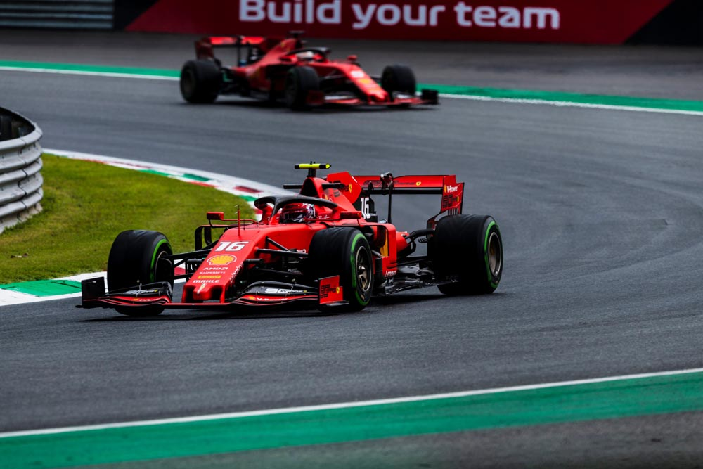 דירוג F1 אטליה: אדום בראש