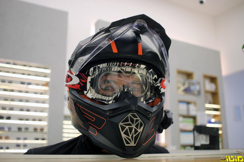מוטו טסט | התקן מיוחד לשטח למרכיבי משקפי ראיה