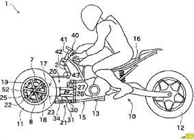 קאוואסאקי עובדת על אופנוע תלת־גלגלי