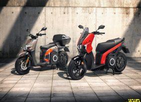 סיאט מציגה קטנוע חשמלי ראשון בשתי גרסאות