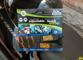 מוטו טסט | רצועות קשירה ROK Straps לאופנוע