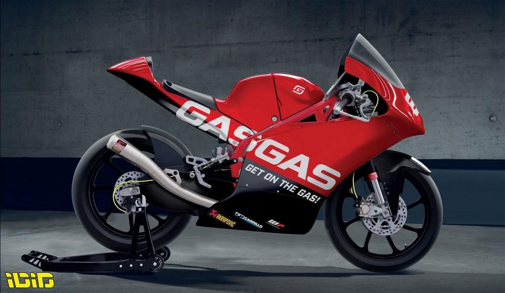 אופנוע המוטו3 של GasGas