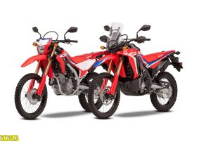 הונדה: CRF300L ו-CRF300 ראלי לאירופה
