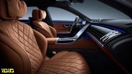 Mercedes-Benz S-Klasse, 2020, Studioaufnahme, Interieur: Leder Nappa Sienabraun // Mercedes-Benz S-Class, 2020, studio shot, interior: leather siena brown