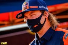 Price Toby (aus), KTM, Red Bull KTM Factory Team, Moto, Bike, portrait during the Rest Day of the Dakar 2021 in Ha'il, in Saudi Arabia on January 9, 2021 - Photo Frederic Le Floc'h / DPPI