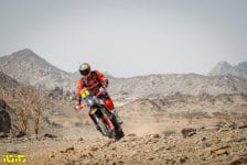 03 Price Toby (aus), KTM, Red Bull KTM Factory Team, Moto, Bike, action during the Dakar 2021's Prologue and start podium ceremony in Jeddah, Saudi Arabia on January 2, 2021 - Photo Antonin Vincent / DPPI