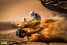 169 Carrizo Tobias Juan (arg), Yamaha M.E.D. Racing Team, Quad, action during the 2nd stage of the Dakar 2021 between Bisha and Wadi Al Dawasir, in Saudi Arabia on January 4, 2021 - Photo Antonin Vincent / DPPI