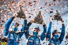 Dakar 2021 - 15/01/21 - Podium Finish - Jeddah -