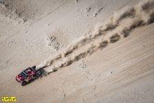 #307 Przygonski Jakub (pol), Gottschalk Timo (deu), Toyota, Overdrive Toyota, Auto, action during the 2nd stage of the Dakar 2021 between Bisha and Wadi Al Dawasir, in Saudi Arabia on January 4, 2021 - Photo Charly Lopez