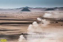 Landscape during the 3rd stage of the Dakar 2021 between Wadi Al Dawasir and Wadi Al Dawasir, in Saudi Arabia on January 5, 2021 - Photo Charly Lopez / A.S.O