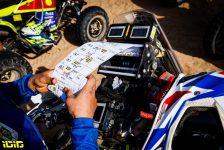 Roadbook, moto, bike, atmosphere during the 4th stage of the Dakar 2021 between Wadi Al Dawasir and Riyadh, in Saudi Arabia on January 6, 2021 - Photo Florent Gooden / DPPI