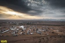 Bivouac during the 6th stage of the Dakar 2021 between Al Qaisumah and Ha'il, in Saudi Arabia on January 8, 2021 - Photo Charly Lopez
