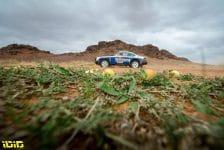 #202 Lerner Amy (usa), Bossaert Sara Carmen (bel), Porsche, Al Rally, Dakar Classic, action during the 6th stage of the Dakar 2021 between Al Qaisumah and Ha'il, in Saudi Arabia on January 8, 2021 - Photo Gustavo Epifanio / Fotop