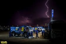 Team Kamaz during the Rest Day of the Dakar 2021 in Ha'il, in Saudi Arabia on January 9, 2021 - Photo: Charly Lopez