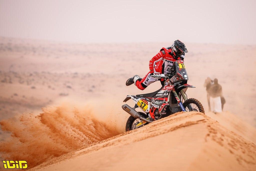 17 Pedrero Garcia Juan (esp), KTM, FN Speed - Rieju Team, Moto, Bike, action during the 7th stage of the Dakar 2021 between Ha'il and Sakaka, in Saudi Arabia on January 10, 2021 - Photo Antonin Vincent / DPPI