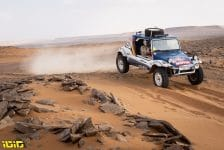 201 Eggermont Emmanuel (bel), De Braekeller Edouard (bel), Volswagen, Racing Wings, Dakar Classic, action during the 7th stage of the Dakar 2021 between Ha'il and Sakaka, in Saudi Arabia on January 10, 2021 - Photo Gustavo Epifanio / Fotop